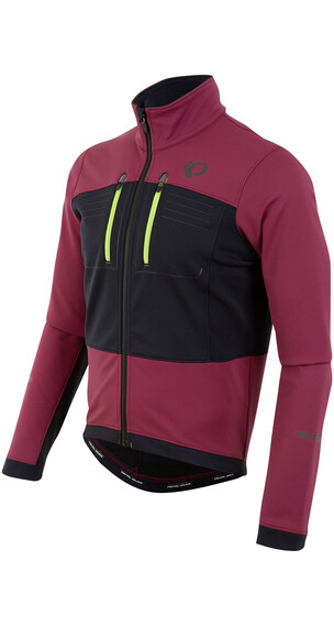 PEARL iZUMi ELITE Escape Softshell Jacket Men Tibetan Red/Black